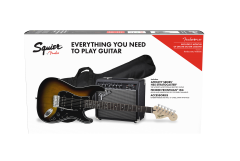 PACK FENDER AFFINITY SERIES HSS STRATOCASTER BROWN SUNBURST